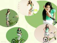Jeon Ji Hyun & The Bike