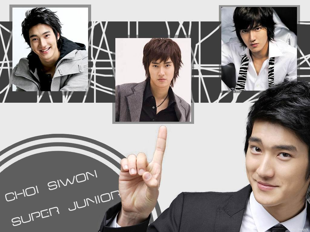Super Junior Siwon Choi siwon  super junior