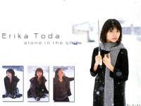 Erika Toda : alone in the snow