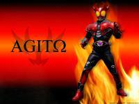 Rider Agito Burnning Form
