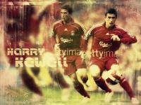 Harry Kewell With Liverpool