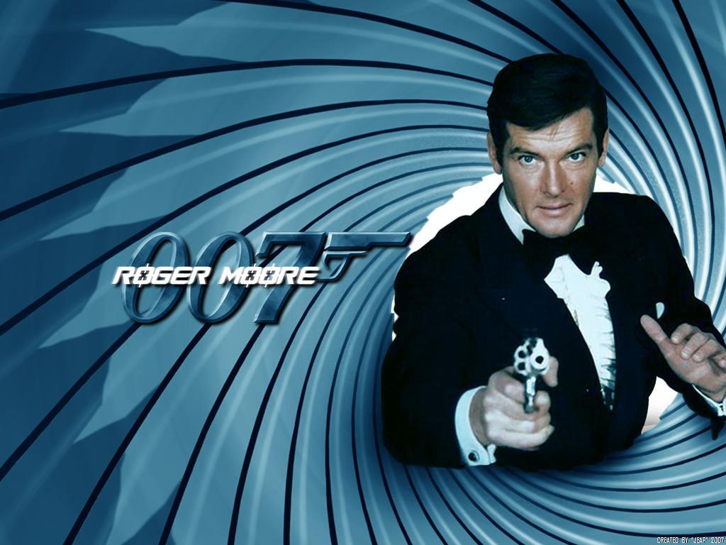ROGER MOORE 007 Wallpaper. ROGER MOORE 007