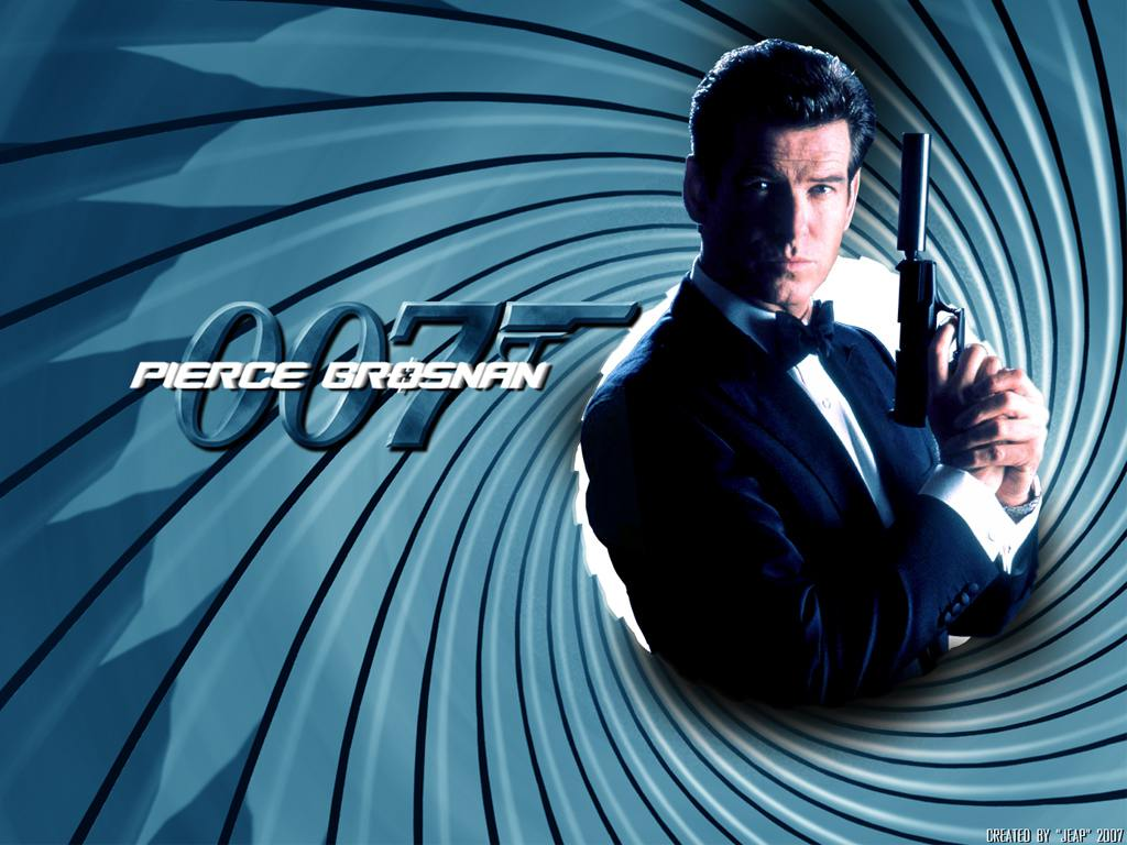 PIERCE BROSNAN 007 Wallpaper. PIERCE BROSNAN 007