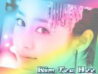 Kim Tea Hee In Rainbow