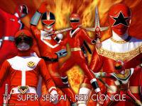 Super sentai - red clonicle