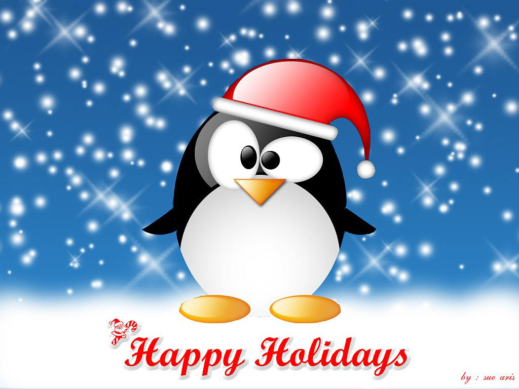 Happy Holidays  _  Wallpaper