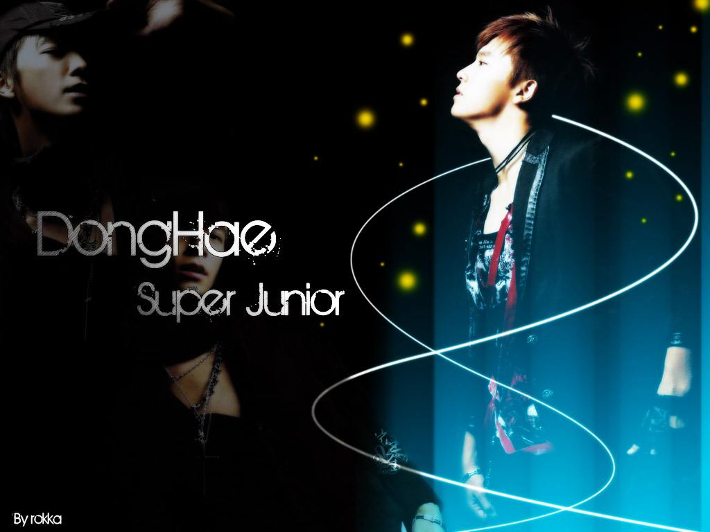 DongHae Super Junior [Set 2] Wallpaper by rokka