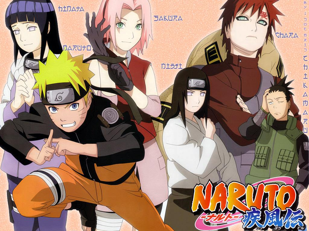 Naruto and Friends picture