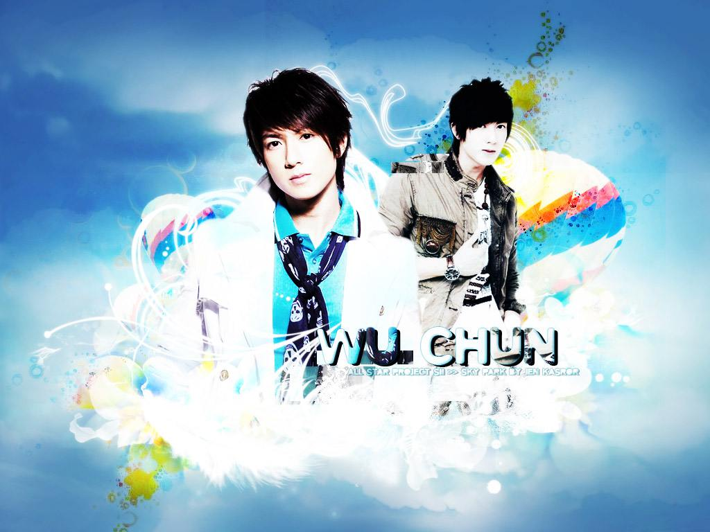 Sky Park With Wu Chun :: Wallpaper