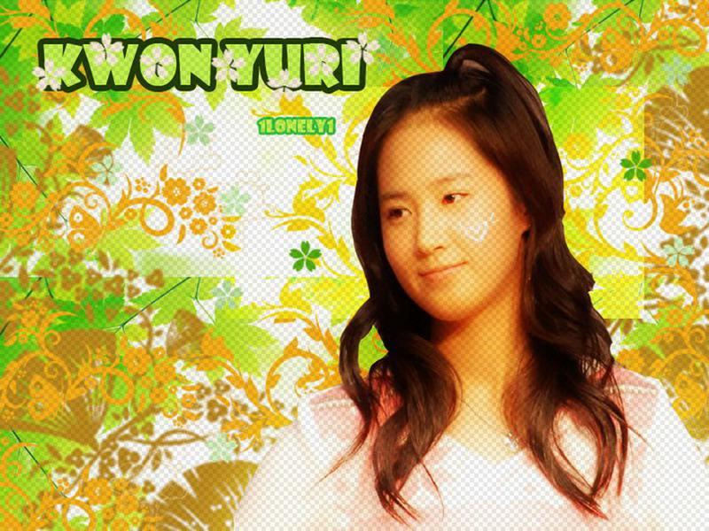 yuri wallpaper. Kwon Yuri Wallpaper