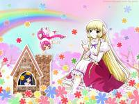 in the garden ; chobits