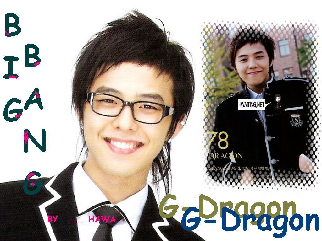 تقرير بسيط عن قائد فرقة big bang و هو g-dragon...... 019100