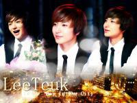 LeeTeuk Boy In The City