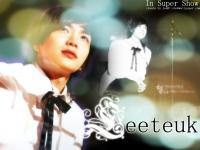 LeeTeuk in Super Show