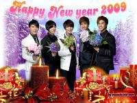 TVXQ Happy New Year 2009 [2]