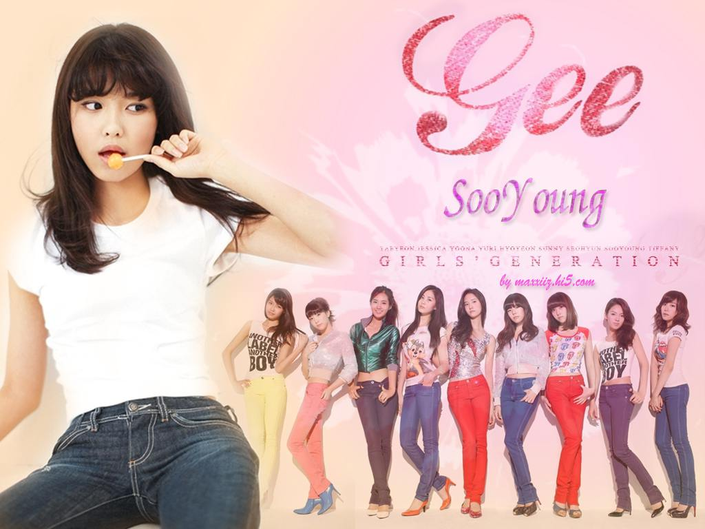 SooYoung SNSD Gee Wallpaper