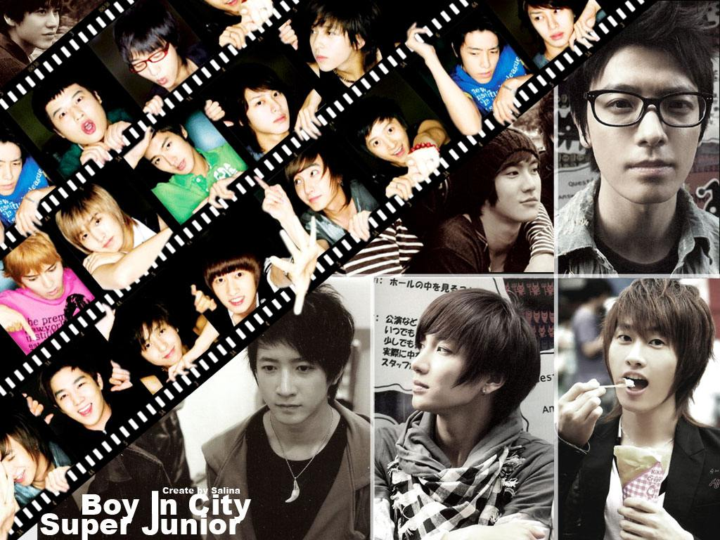 Super Junior :: Boy In City Wallpaper
