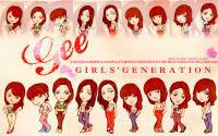 Gee - Girls' Generation(cartoon)