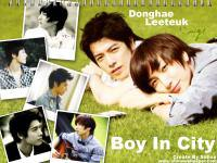 Leeteuk Donghae :: Boy In City