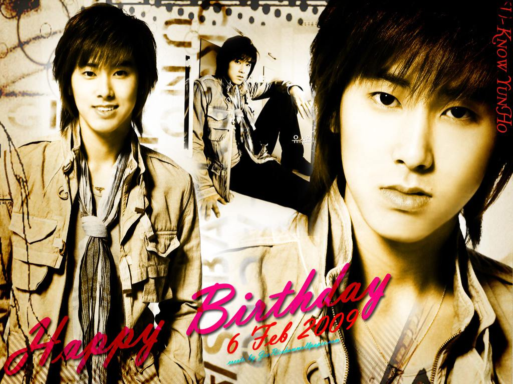 hbd to u-know yunho wallpaper : yunho photos, wallpapers, galleries -
