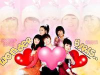 Sweet love with Wonder girls