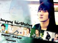 Happy Birthday Siwon