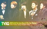 TVXQ MKMF 2008 The Best Album of the Year