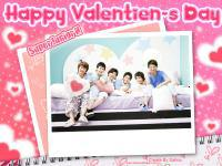 Happy Valentine's Day With Super Junior Happy