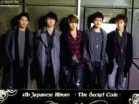 "TVXQ The 4th Japanese Album ""The Secret Code"""