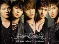 4 th Japan Album The secret code