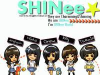 SHINee;Cute Cartoon