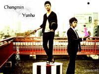 Changmin & Yunho in HOMME(THE TELEVISION HOMME)vol.6