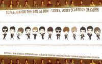Super junior : Sorry Sorry (cartoon version)