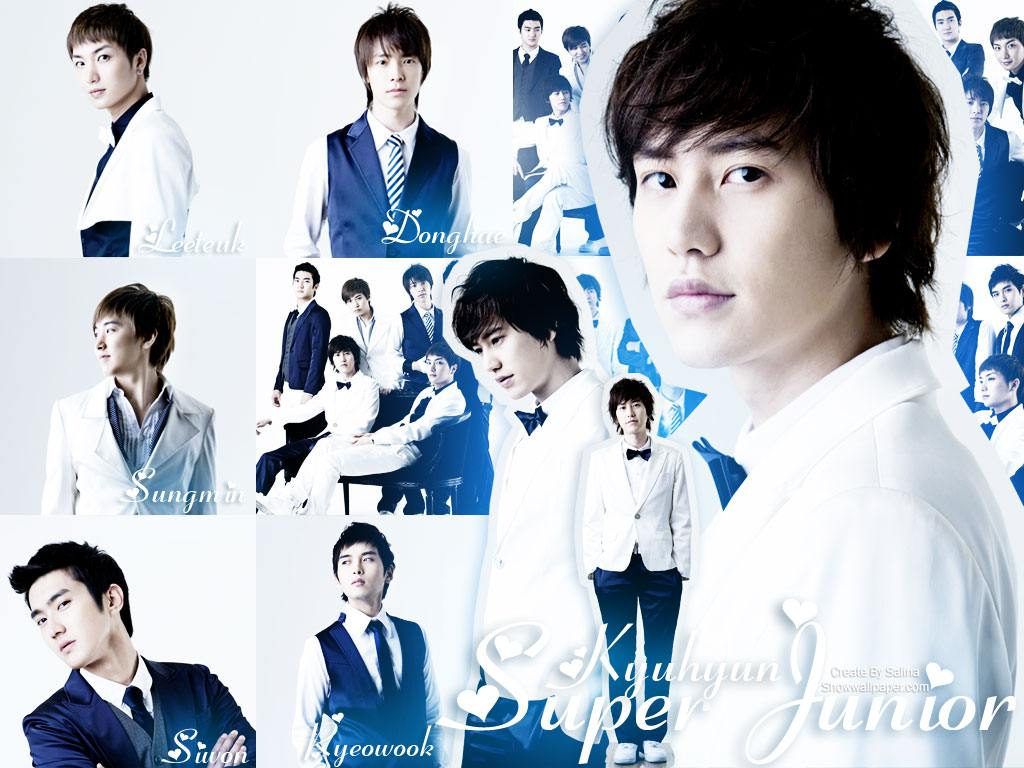 Wallpaper Anime Super Junior Wallpaper Album Super Junior Wallpaper