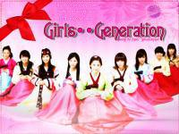 Girls' Genration With Sweet Cute Hanbok