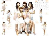 So Nyeo Shi Dae [Banana Milk] calendar may 2009