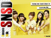 SNSD Banana Milk  CF ;