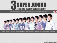SJ 3rd Repackage Album Sorry, Sorry