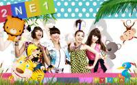 2NE1 in Jungle
