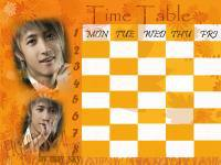 Time Table ฮันเกิง