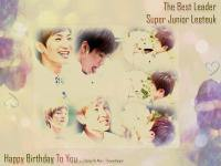 Happy Birthday Leeteuk (My Love)