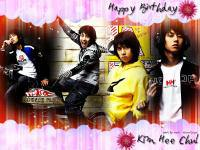 Happy Birthday Heechul(My Love)