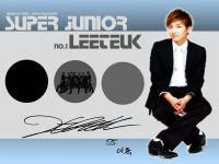 No.1 Super Junior Leeteuk