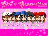 SNSD CARTOON VER.
