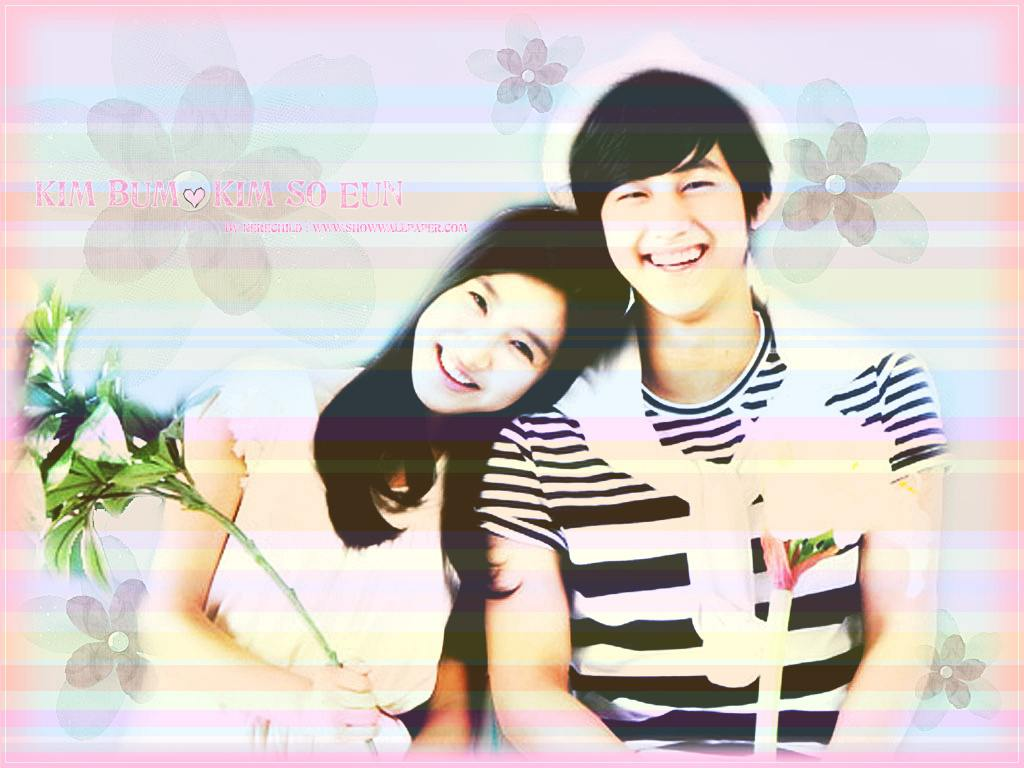 Kim Bum & Kim So Eun Wallpaper