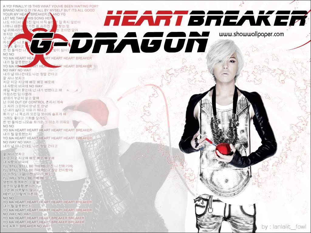 Heartbreaker [GDragon] + Wallpaper