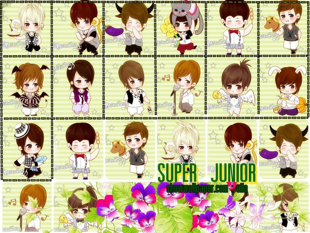 Kartun Super Junior Finding Reality Irfans Blog