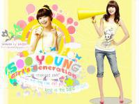 soo young - snsd :; with bright yellow