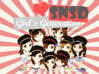 SNSD ❥ Cartoon