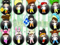 Super Junior Cartoon